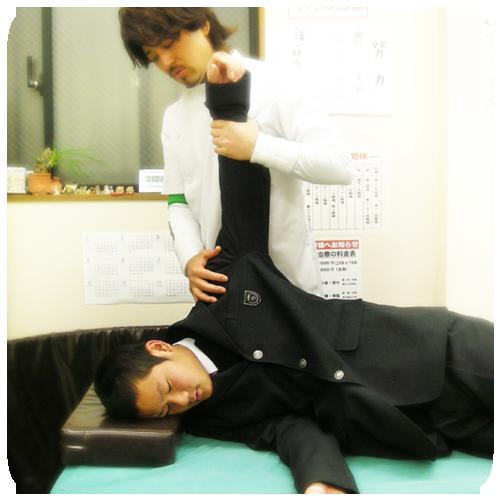 北浦和 背骨・骨盤矯正治療 鈴木接骨院